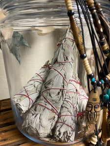 "White Sage -  9"" Smudge Stick, Perfect for Smudging & Meditation"