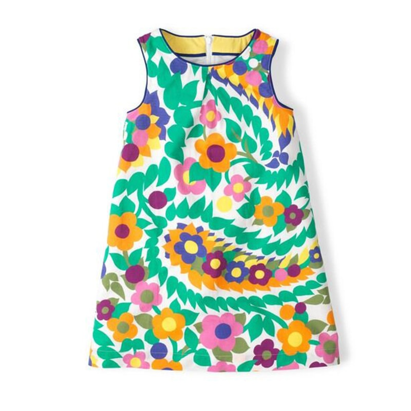 100% Cotton Summer Floral Dress
