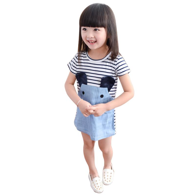 Cute Mouse Denim Dress