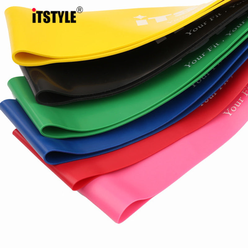 Resistance Bands 6 Levels Exercises