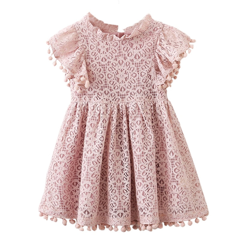 Sweet Candy Colors Girl Dress