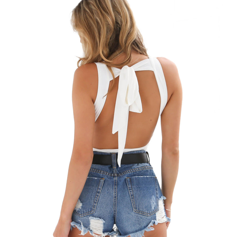 Backless Summer Bodycon Bodysuit