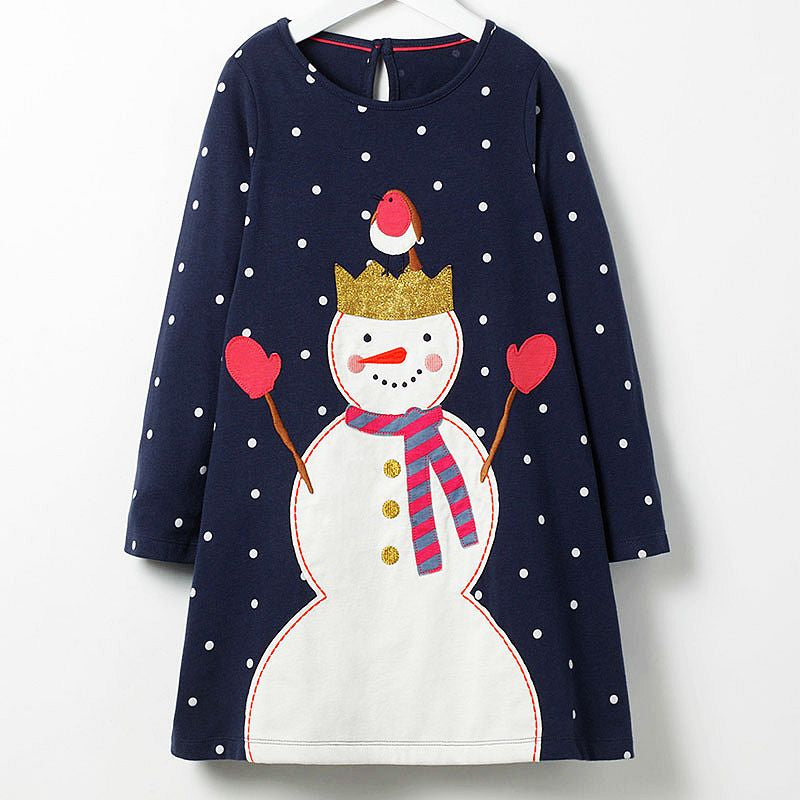 100% Cotton Christmas Tunic Dress