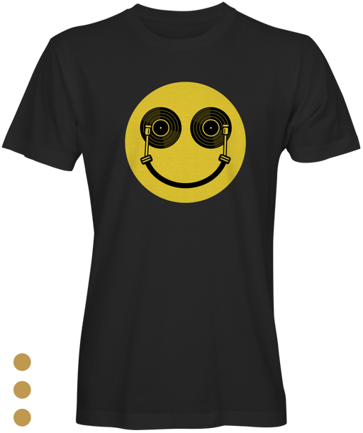 Happy DJ Vinyl Records  Inspired T-shirts