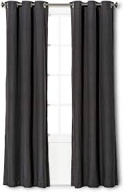 Eclipse Windsor Light Blocking Curtain Panel - Charcoal 63x42