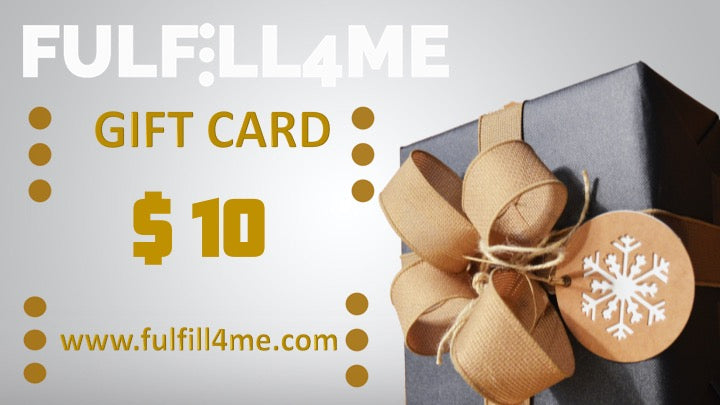 Fulfill4me Gift Card