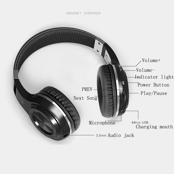 Original HT Wireless Bluetooth Headphones
