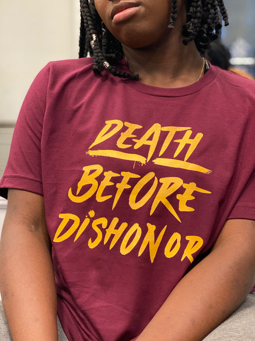 Death Before Dishonor Unisex T-Shirts For Sale