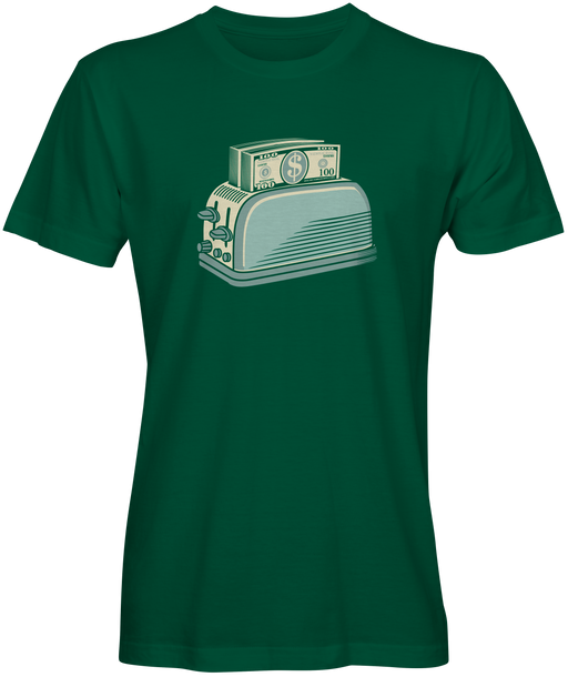 Instant Cashflow  Money Toaster T-shirts