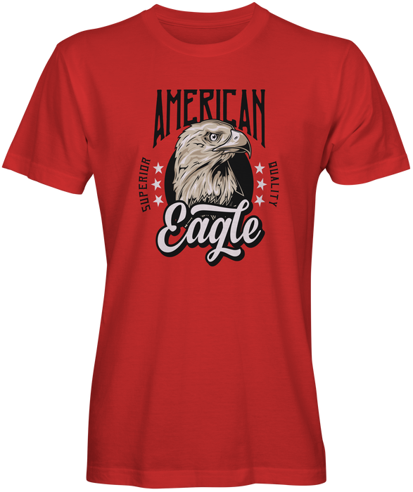 Red American Eagle T-shirts