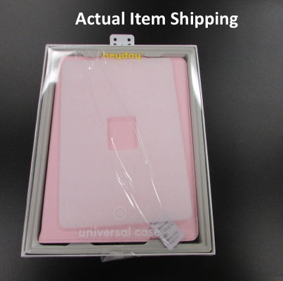 "Heyday 9-10"" TPU Tablet Case - Pink"