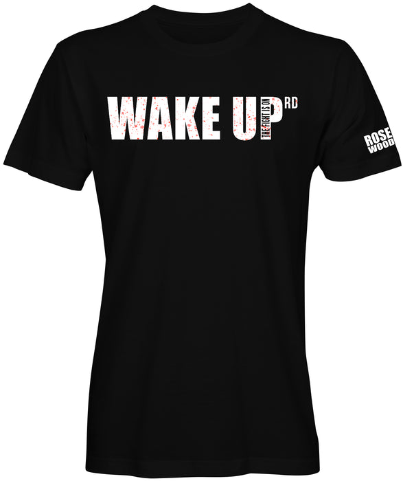 Wake Up Rd Slogan T-shirt by K.Mitchell Brand