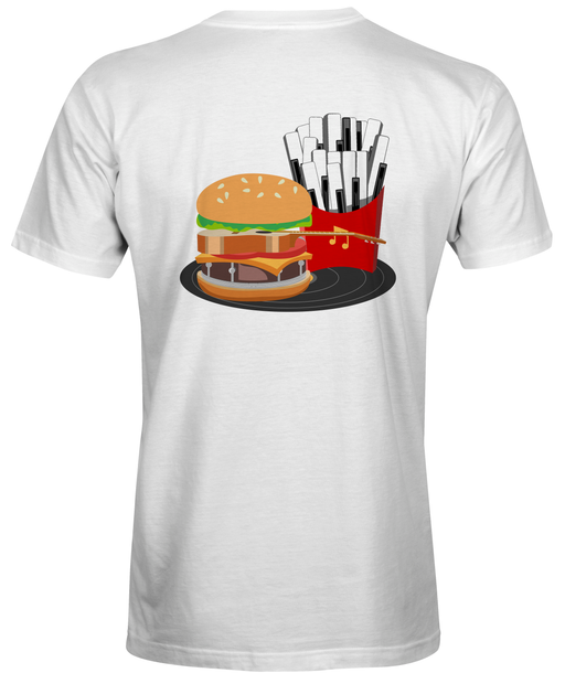 Fast  Food Inspired Music T-Shirt