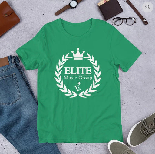Elite Music Logo T-Shirts Plus Size
