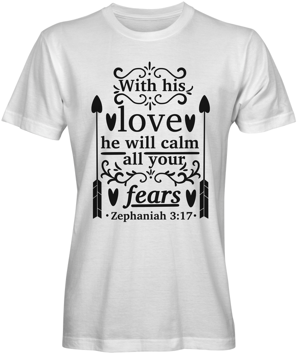The Book of Zephaniah Bible Verse T-shirts