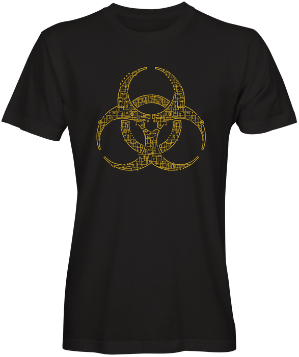 Black Bio-Hazard T-shirt