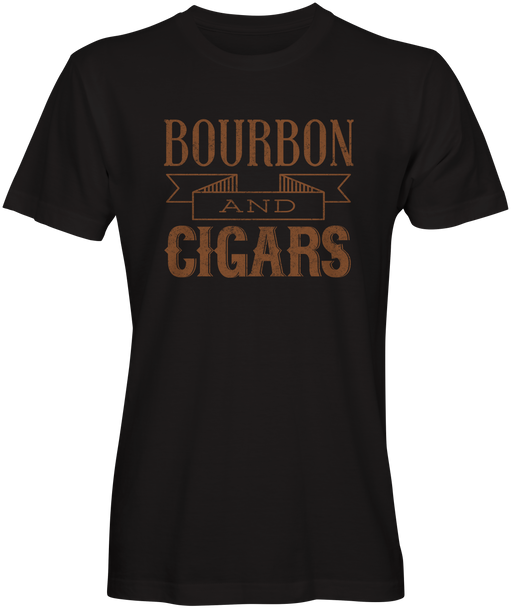 Bourbon and Cigars Inspired T-shirts
