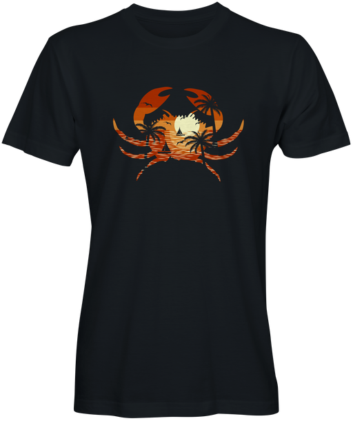 Black Beach Crab T-shirt