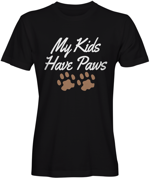 My Kids Have Paws Unisex T-shirts