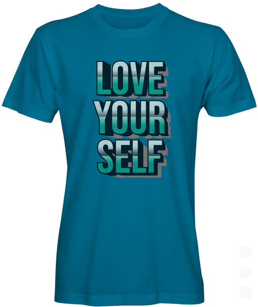 Love Yourself Graphic Youth  T-shirt
