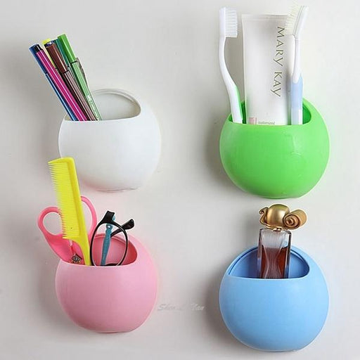 TOOTHBRUSH WALL HOLDER