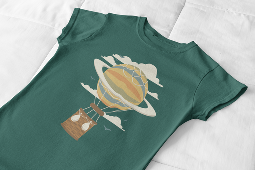 Hot Air Balloon Graphic Toddler T-Shirt