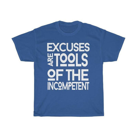 Men's Excuses Crew Neck T-shirt - FulFill4me - LoL Apparel Co.