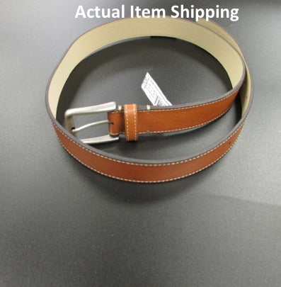 "Men's 1.26"" Casual Belt - Goodfellow & Co  Brown"