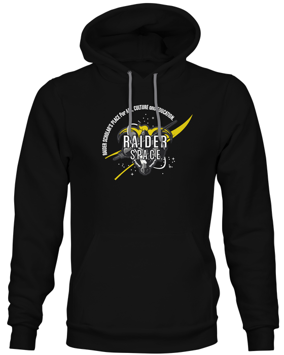 Mercer School Spirit Wear Adult Raider S.P.A.C.E Hoodie