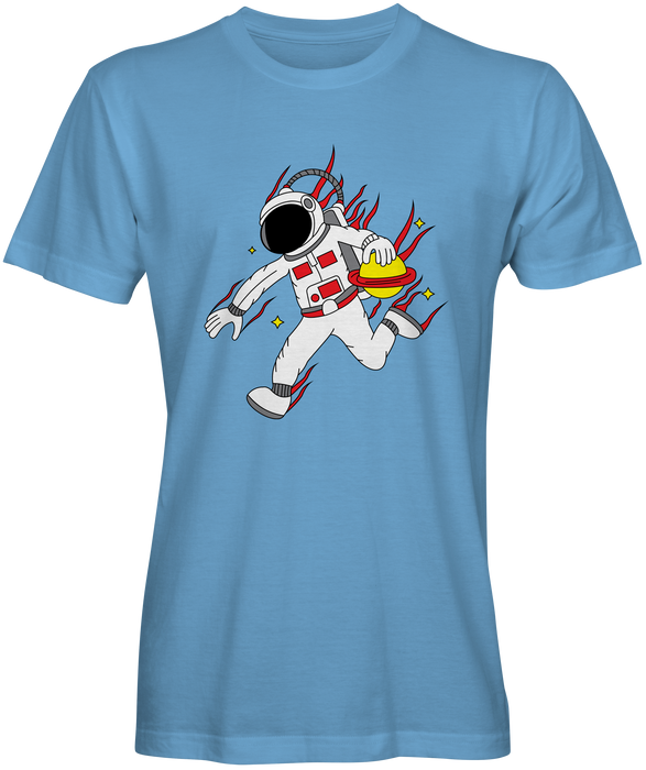 Space Dribble Basketball T-shirt for Sale