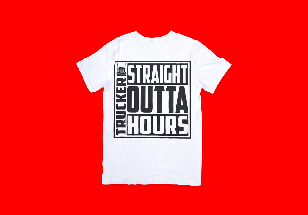 Straight Outta Hours Truckers Tee