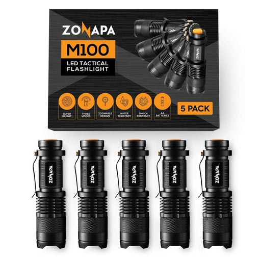 ZONAPA LED Mini Flashlights (5-Pack)