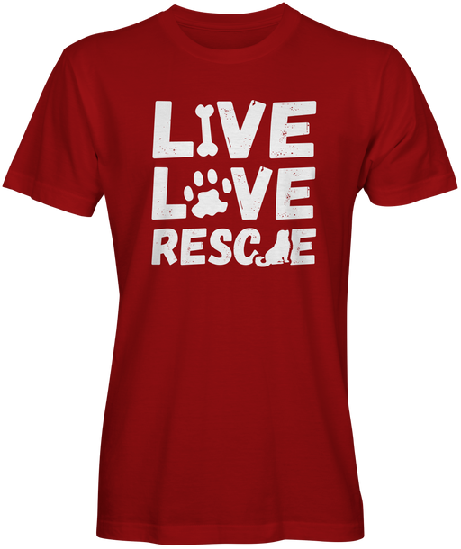 Dog Lovers  Rescue T-shirts