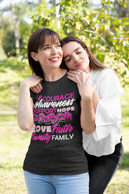 Courage Awareness Support T-shirt