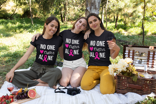 No One Fight Alone Ladies T-shirt