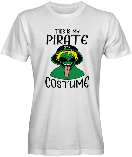 This Is My  Pirate Costume T-shirt for Sale