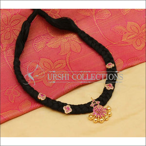 Beautiful Black Thread Necklace UC-NEW989 - Necklace Set