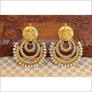 Beautiful Designer Earrings Set UC-NEW851 - White - Earrings