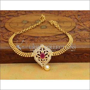 Beautiful Gold Plated CZ Bajuband UC-NEW960 - Ruby - BAJUBAND