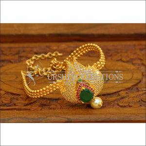 Beautiful Gold Plated CZ Bajuband UC-NEW964 - Multi - BAJUBAND