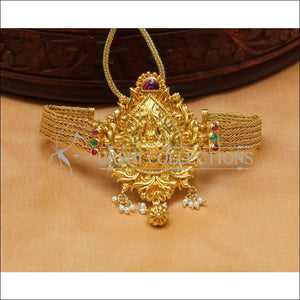 Beautiful Gold Plated Temple Bajuband UC-NEW2493 - BAJUBAND