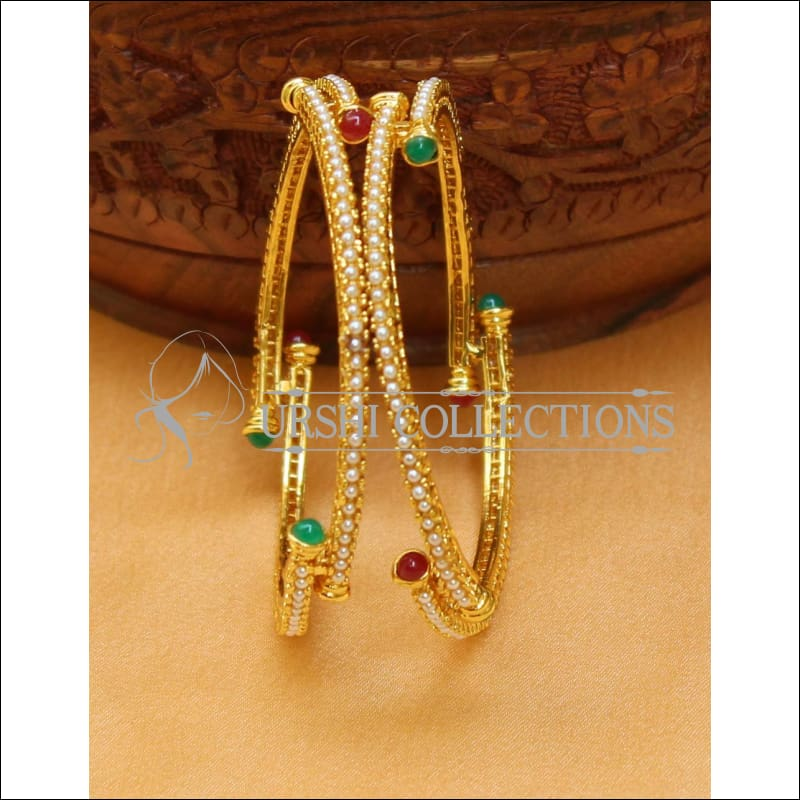 Designer Antique Bangle Set UC-NEW2414 - Bangles