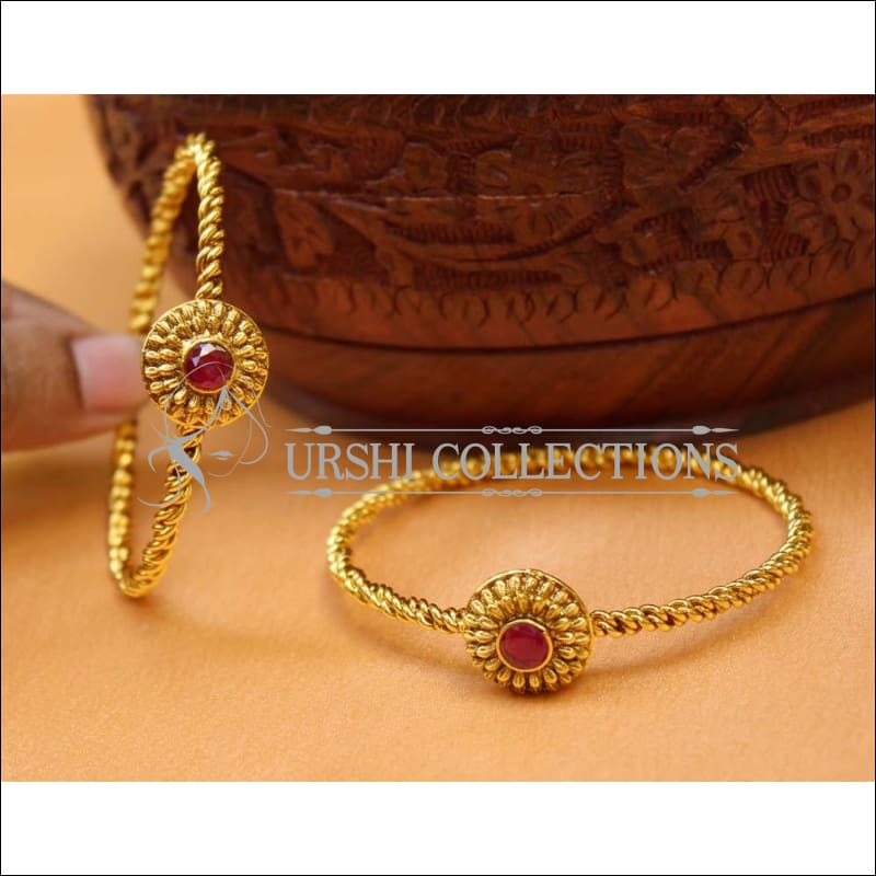 Designer Antique Bangle Set UC-NEW2439 - 2.4 - Bangles