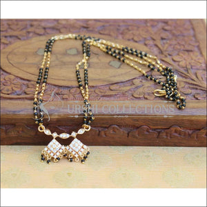 Designer Black Beads Necklace Set UC-NEW786 - Mangalsutra