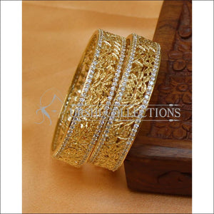 Designer CZ Bangle Set UC-NEW2442 - Bangles
