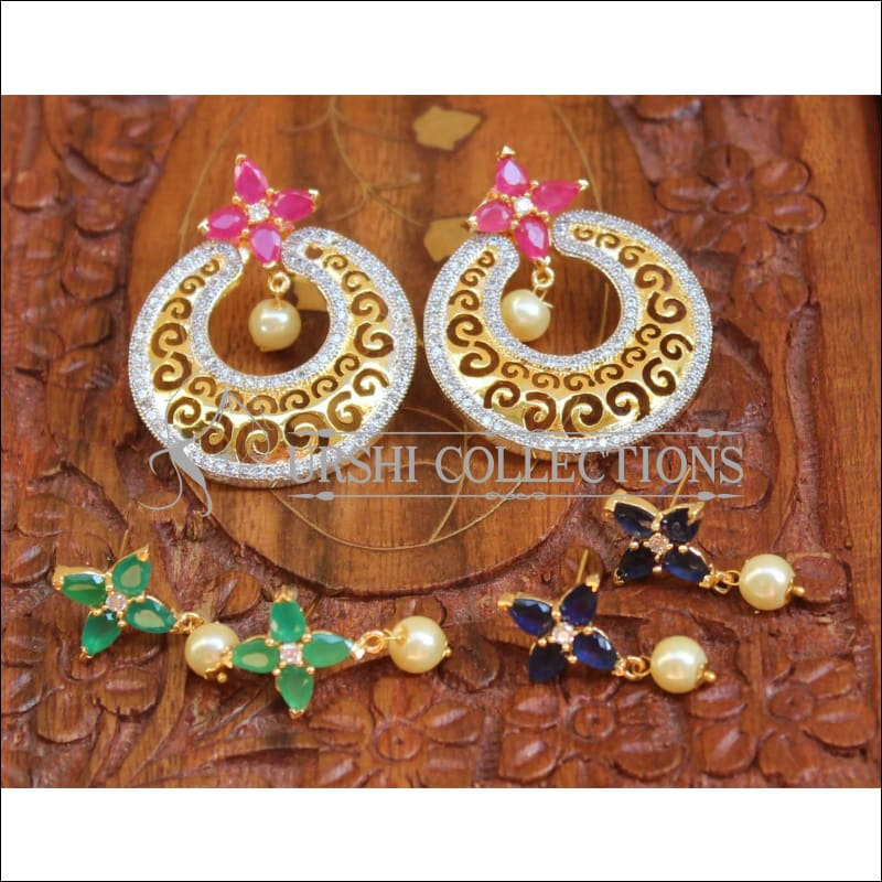 Designer CZ Earrings Set UC-NEW 543 - Earrings