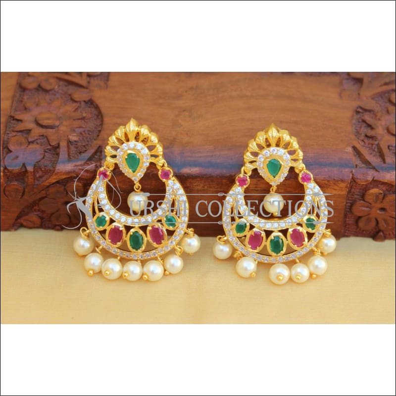 Designer CZ Earrings Set UC-NEW2129 - Earrings