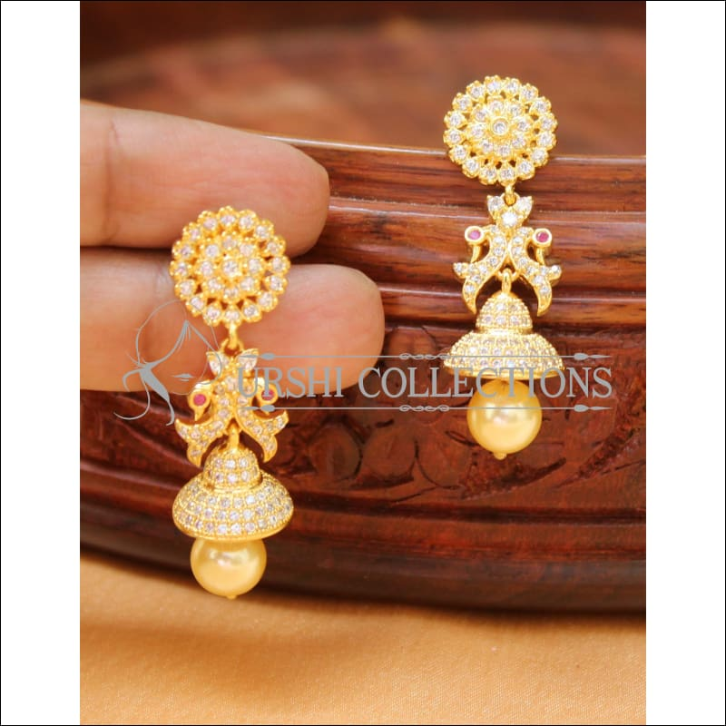 Designer CZ Earrings Set UC-NEW2273 - Earrings