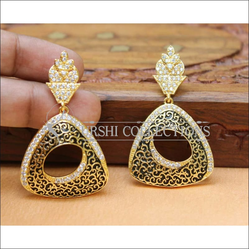Designer CZ Earrings Set UC-NEW523 - Earrings
