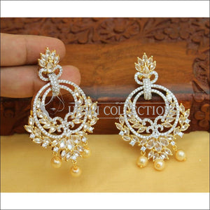 DESIGNER CZ EARRINGS UC-NEW2892 - Earrings